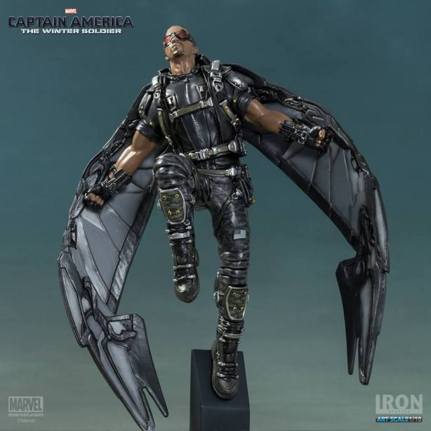 Captain-America-The-Winter-Soldier-Falcon-Art-Scale-Iron-Studios-12